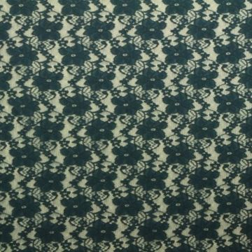 Lace - Petrol Flowers Dark