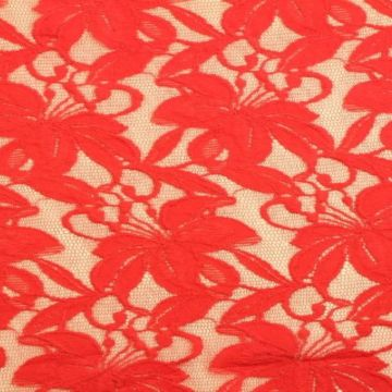 Lace - Coral/Red