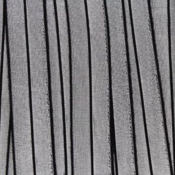 vouwtres zilver zwart