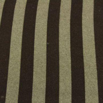 Wooly Look - Big Grey/Brown Stripes
