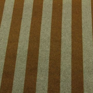 Wooly Look - Big Grey/Ocher Stripes