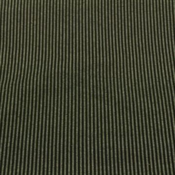 Wooly Look - Anthracite/Grey Stripes