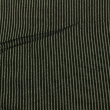 Wooly Look - Small Black/Grey Stripes