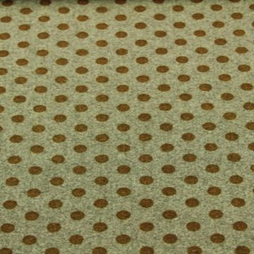 Wooly Look - Ocher Dots