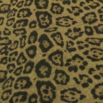 Wooly Look - Camel/Black Leopard