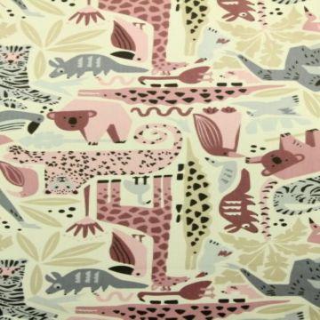 gekleurde dieren katoenen prints