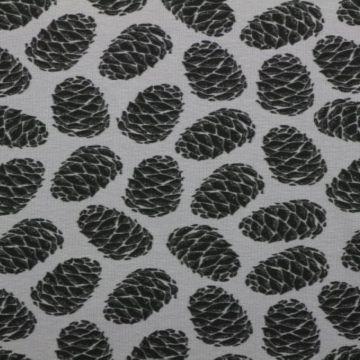 Katoenen tricot met dennenappels