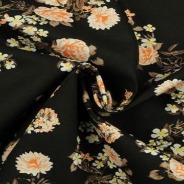 bloemen katoenen print