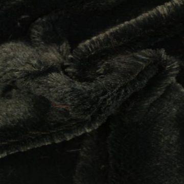 Kortharig Bont - Zwart