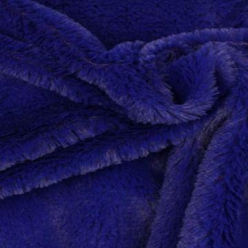 Kortharig Bont - Indigo Blauw