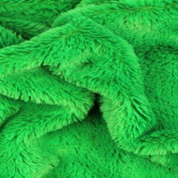Kortharig Bont - Gras Groen