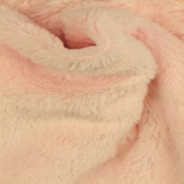 Kortharig Bont - Licht Roze