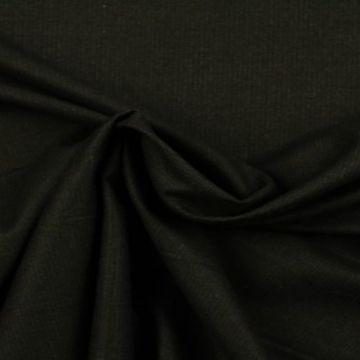 pantalon stof bruin zwart gemêleerd