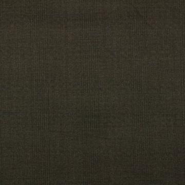 pantalon stof donker bruin met ruit