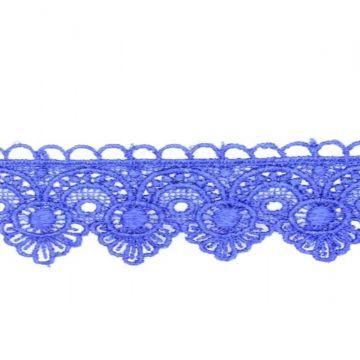 Smal Katoenen Kantband - Kobalt 1