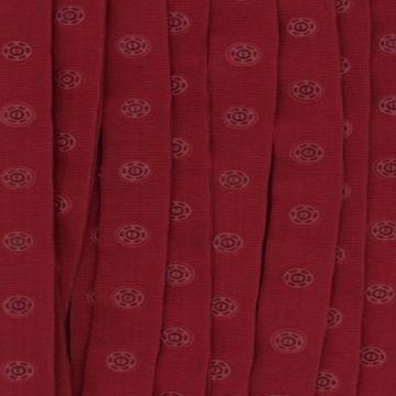 donker rood drukkertjesband