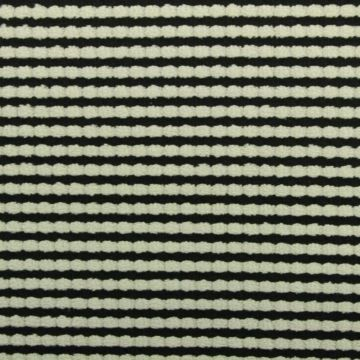 Terry Jersey - Black/Grey Stripes
