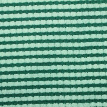Terry Jersey - Turquoise/Seagreen Stripes