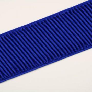 Blousonelastiek - kobalt blauw