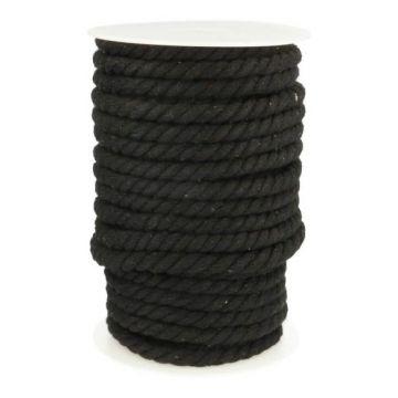 koord 10 mm zwart