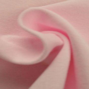 katoenen tricot licht roze