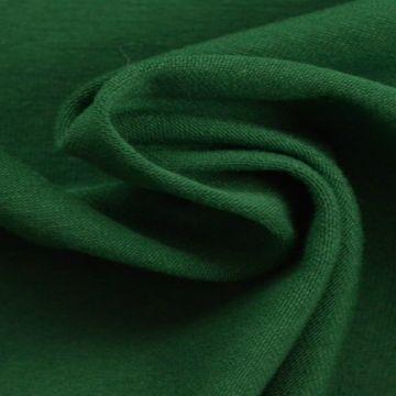 katoenen tricot jersey donker groen