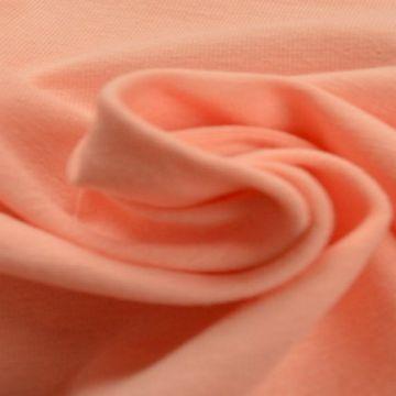 katoenen tricot jersey zalm roze