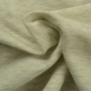 katoenen tricot jersey gemeleerd licht grijs