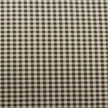 linnen (gordijn)stof met ruit groen grijs