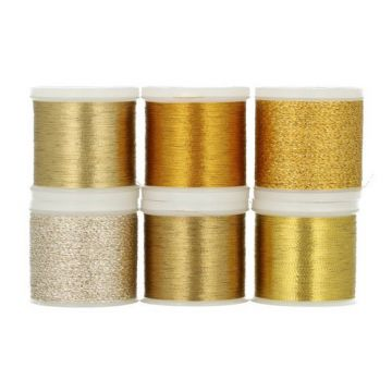 Madeira Crown Box - Gold Metallic