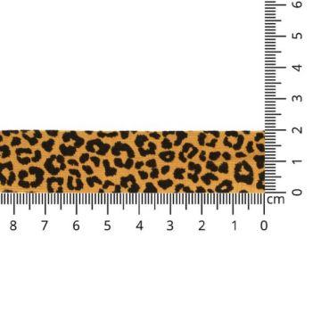 Oaki Doki Biaisband Tricot - Leopard - Ocher
