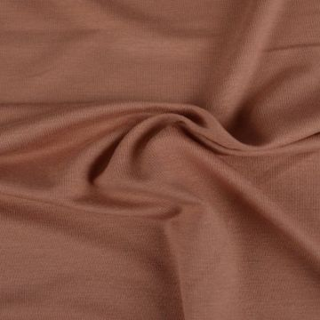 viscose tricot donker oud roze
