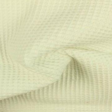 Wafelkatoen - Gebroken Wit