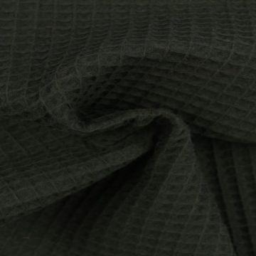 Wafelkatoen - Zwart