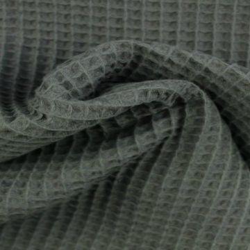 Wafelkatoen - Donker grijs