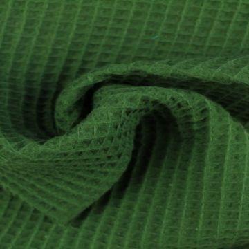 Wafelkatoen - Donker Groen