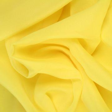 Licht Gele Chiffon