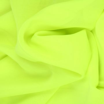 Neon Groene Chiffon