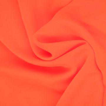 Neon Oranje Chiffon
