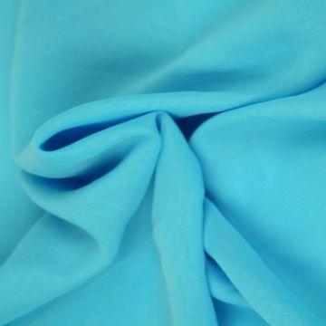 Aqua Blauwe Chiffon