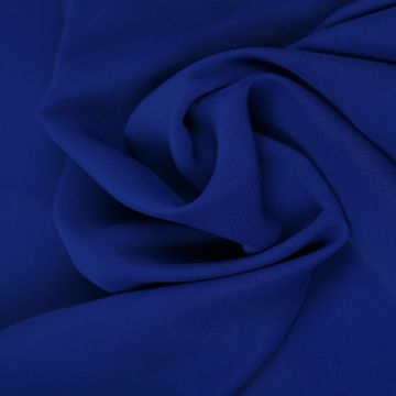 Kobalt Blauwe Chiffon