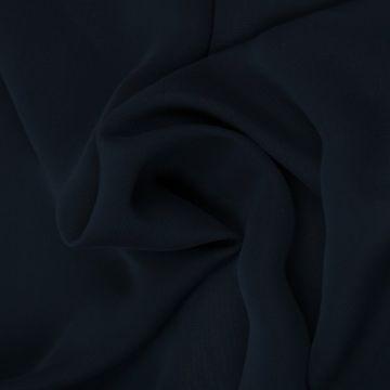 Navy Blauwe Chiffon