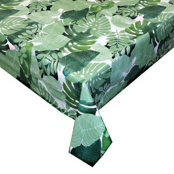 Tafelzeil Palmbladeren