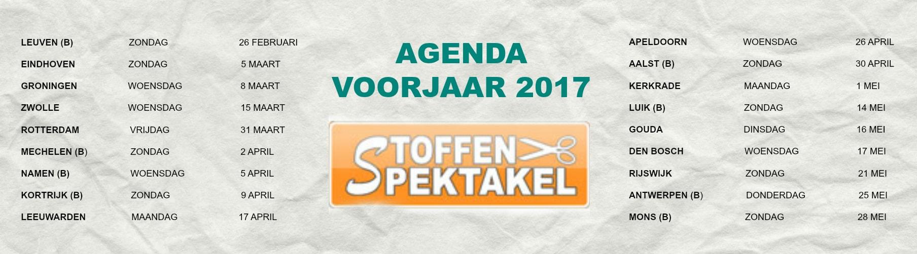 agenda stoffenspektakel 2017